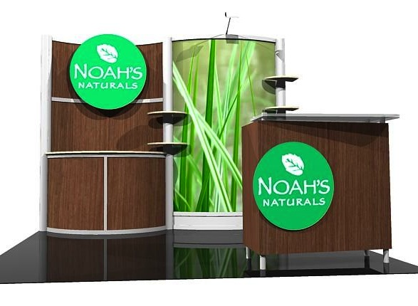 environmentally friendly display booth