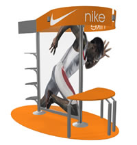 point of sale custom display booth